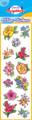 Flower Glitter Stickers