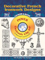 Decorative French Ironwork Designs CD-ROM & Book