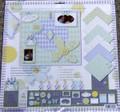 Happy Birthday Scrapbook Kit