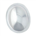Dome - Small Clear Plastic Oval
