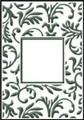 Floral Frame Embossing Folder