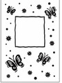 Butterfly Frame Embossing Folder