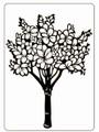 Floral Tree Embossing Folder