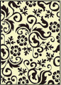 Flower Flourish Embossing Folder
