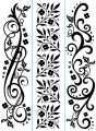 Flourishes Embossing Folders - 3 Pack