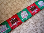 Holiday Sweet Tooth 1 1/2 Inch Collar