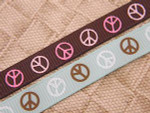 Signs of Peace 1/2 Inch Collar
