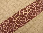 Giraffe Spots 1 1/2 Inch Collar