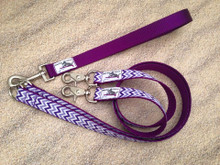 Multi Dog Leash System comes with one handle and two extenders.