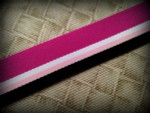Chocolate Raspberry 1 Inch Collar