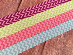 Chevron Two-Tone 1 Inch Collar