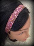 Shaka Girl Headband - Pukas Brown 1""