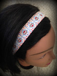 Shaka Girl Headband - Sock Monkey 1""