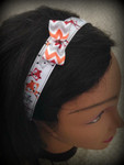 Shaka Girl Headband - Fox with Bow 1""