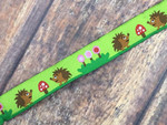 Happy Hedgehogs 3/4 Inch Collar
