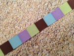 Colorblocks 1/2 Inch Collar