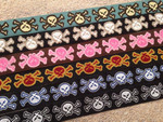Fierce Skulls 1 Inch Collar