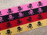 Punk Skulls 1 Inch Collar