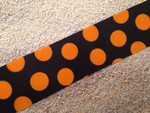 Halloween Silly Dots 1 1/2 Inch Collar