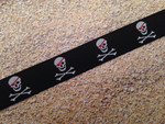 Pirate Skulls 3/4 Inch Collar