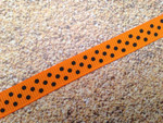 Halloween Swiss Dots 1/2 Inch Collar