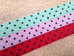 Swiss Dots 1 Inch Collar