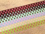 Confetti Dots 3/4 Inch Collar
