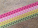 Confetti Dots 1/2 Inch Collar