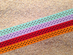 Swiss Dots 1/2 Inch Collar