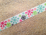 Wintery Snowflakes 1 Inch Collar
