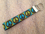Keychain Wristlet - Increase Peace 10""