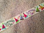 Birthday Glitter Birthday Girl 1 Inch Collar