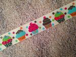 Birthday Glitter Cupcakes 1 Inch Collar