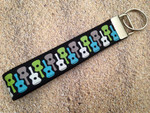 Key Leash - Guitar Glitter 10""