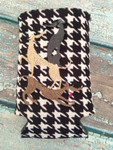 Can Koozie - Stacked Hounds Houndstooth