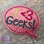 Collar Glam - I <3 Geeks!