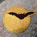 Collar Glam - Bat and Moon