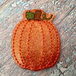 Collar Glam - Pumpkin *Personalization Option*
