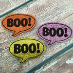 Collar Glam - Boo! Word Bubble