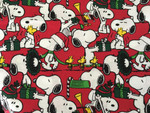 Custom Shaka Shield Bellyband - Santa Snoopy