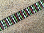 Grinchy Chevron 1 Inch Collar