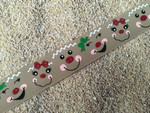 Gingerbread Faces 1 Inch Collar