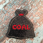Collar Glam - Bag of Coal