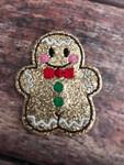 Collar Glam - Gingerbread Boy