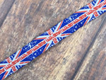 Union Jack Punk 3/4 Inch Collar