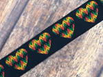 Rasta Love 1 Inch Collar