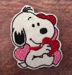 Collar Glam - Snoopy Valentine
