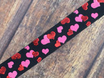 Floating Hearts 1 Inch Collar