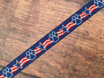 Patriotic Paws 1/2 Inch Collar