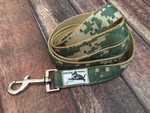 Premade Army Camo Leash 5 Ft.